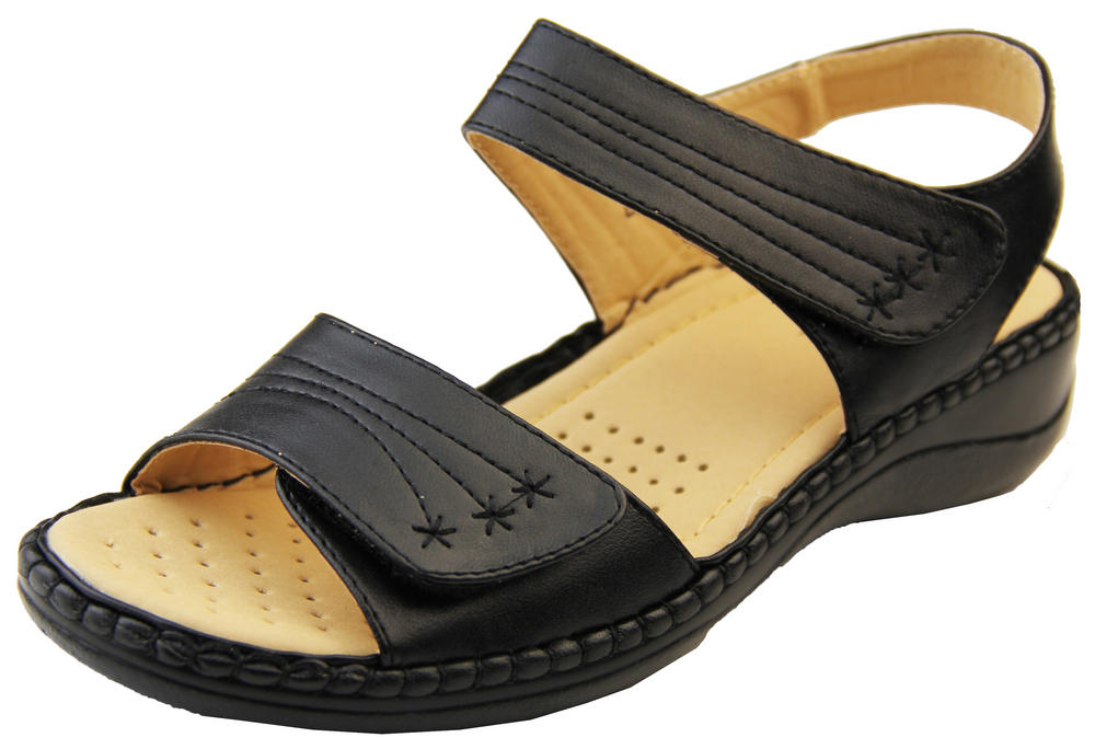 Womens Betty Touch Strap Comfort Sandals