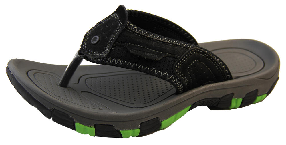 Mens Leather NORTHWEST TERRITORY Fiji Sandals