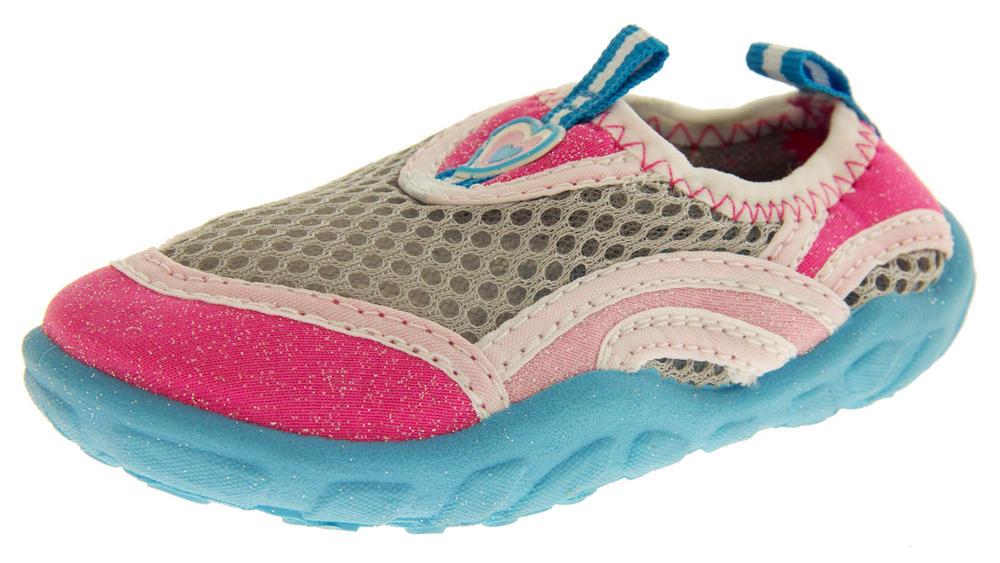 Girls Glitter Swimming Sandals