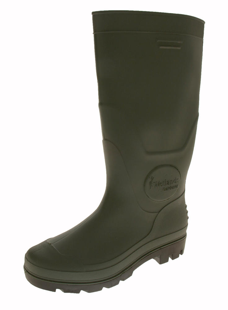 Mens Wetland Gardener Waterproof Wellington Boots