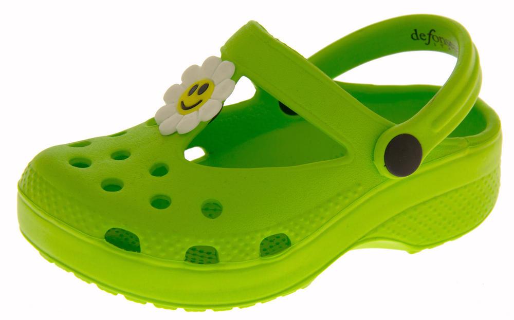 Girls Summer Beach Clog Sandals