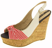 Ladies Elisabeth Platform Wedge Peep Toe Sandals