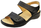Womens Betty Touch Strap Comfort Sandals Thumbnail 1