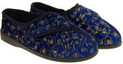 Womens Extra Wide Fitting Diabetic Orthopaedic Slippers Thumbnail 5