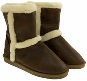 Ladies RED ROCK Faux Fur Lined Winter Boots Thumbnail 5