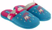 De Fonseca Girls Princess Embroidered Open Back Mule Slipper Thumbnail 5