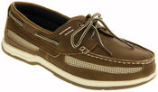 Mens Island Surf  Co. Synthetic Leather Deck Shoes Thumbnail 4