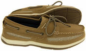 Mens Island Surf  Co. Synthetic Leather Deck Shoes Thumbnail 10