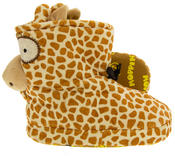 Kids De Fonseca Giraffe Novelty Slipper Boots Thumbnail 4
