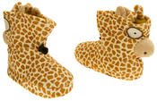 Kids De Fonseca Giraffe Novelty Slipper Boots Thumbnail 6