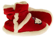 Girls Hello Kitty Faux Fur Lined Boot Slippers Thumbnail 9