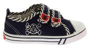 Boys De Fonseca Timotto2 Twin Velcro Strap Canvas Shoes Thumbnail 3