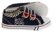 Boys De Fonseca Timotto2 Twin Velcro Strap Canvas Shoes Thumbnail 4