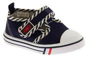 Boys Girls Unisex De Fonseca Giancio 2  Canvas Velcro Fastening Shoes Thumbnail 2