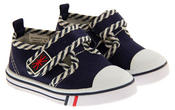 Boys Girls Unisex De Fonseca Giancio 2  Canvas Velcro Fastening Shoes Thumbnail 5