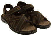 Mens Northwest Territory Sudan Real Leather Hiking Sandals Thumbnail 10