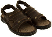 Mens Northwest Territory Savanna Real Leather Walking Sandals Thumbnail 10