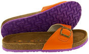 Womens Coolers YF07061 Faux Leather Buckle Strap Mule Sandals Thumbnail 6