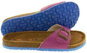 Womens Coolers YF07061 Faux Leather Buckle Strap Mule Sandals Thumbnail 8