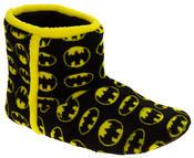 Mens Batman Fleece Warm Pull On Boot Slippers Thumbnail 2