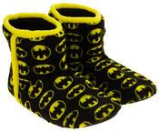 Mens Batman Fleece Warm Pull On Boot Slippers Thumbnail 5
