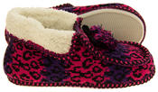 Ladies Coolers Winter Fur Lined Fairisle Slipper Boots Thumbnail 9