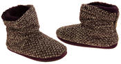 Ladies Coolers Warm Knitted Winter Fur Lined  Slipper Boots Thumbnail 11