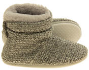 Ladies Coolers Warm Knitted Winter Fur Lined  Slipper Boots Thumbnail 4