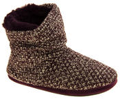 Ladies Coolers Warm Knitted Winter Fur Lined  Slipper Boots Thumbnail 7