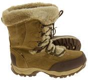 Ladies Hi-Tec Waterproof Suede Faux Fur Winter Snow Boots Thumbnail 9