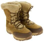 Ladies Hi-Tec Waterproof Suede Faux Fur Winter Snow Boots Thumbnail 10