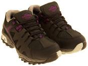 Ladies Leather NORTHWEST TERRITORY Hiking Walking Waterproof Shoes Thumbnail 8