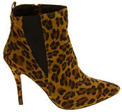 Womens Ravel Coleman Velvet Stiletto Heel Pointed Toe Ankle Boots Thumbnail 9