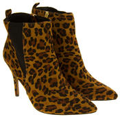 Womens Ravel Coleman Velvet Stiletto Heel Pointed Toe Ankle Boots Thumbnail 11