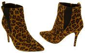 Womens Ravel Coleman Velvet Stiletto Heel Pointed Toe Ankle Boots Thumbnail 12