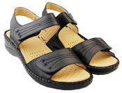 Womens Betty Touch Strap Comfort Sandals Thumbnail 5