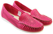 Womens Coolers Premier Cut-Out Loafers Thumbnail 8
