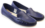 Womens Coolers Premier Cut-Out Loafers Thumbnail 4