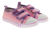Girls Velcro Strap Trainers Summer Pumps Thumbnail 5