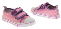 Girls Velcro Strap Trainers Summer Pumps Thumbnail 4