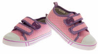 Girls Velcro Strap Trainers Summer Pumps Thumbnail 3