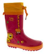 Kids De Fonseca Jungle Fun Wellington Boots Thumbnail 2