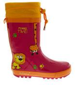 Kids De Fonseca Jungle Fun Wellington Boots Thumbnail 3
