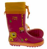 Kids De Fonseca Jungle Fun Wellington Boots Thumbnail 4