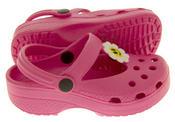 Girls Summer Beach Clog Sandals Thumbnail 7