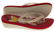 Girls Disney Minnie Mouse Daisy Duck Flip Flops Beach Sandals Thumbnail 9