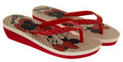 Girls Disney Minnie Mouse Daisy Duck Flip Flops Beach Sandals Thumbnail 5