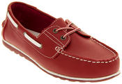 Womens Leather Shoreside Deck Shoes Thumbnail 10
