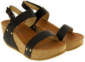 Womens Platform Gladiator Sandals Thumbnail 8