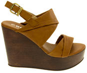 Ladies BETSY Platform Wedge Sandals Thumbnail 6